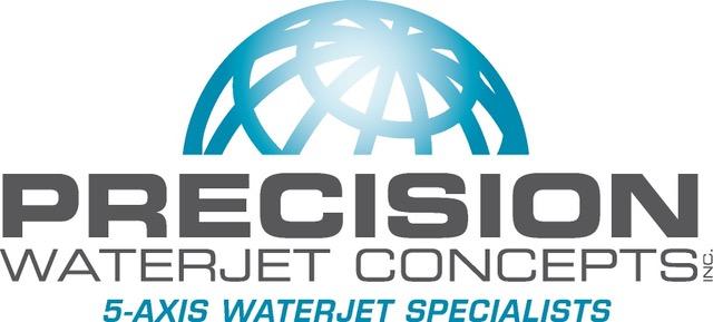 Precision Waterjet PWC logo
